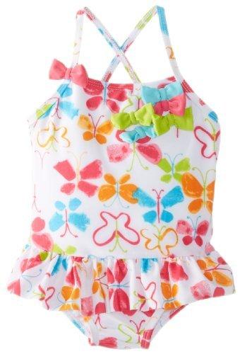 absorba outlet costume da bagno intero da bambina motivo farfalla 30 mesi