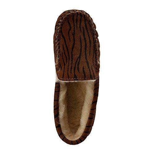 Moccasins Slippers Sheepskin Australia in Tiger Tiger EMU Cairns Fur Womens 7q6fWWOnE