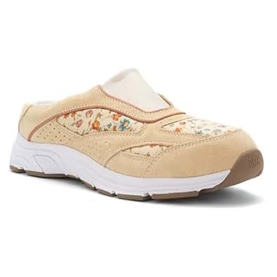 Drew Shoe Women's Juno Mules Sneakers,Beige,6 M
