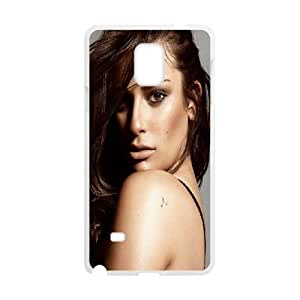 Samsung Galaxy Note 4 Cell Phone Case White_Lea Michele Rqwoh