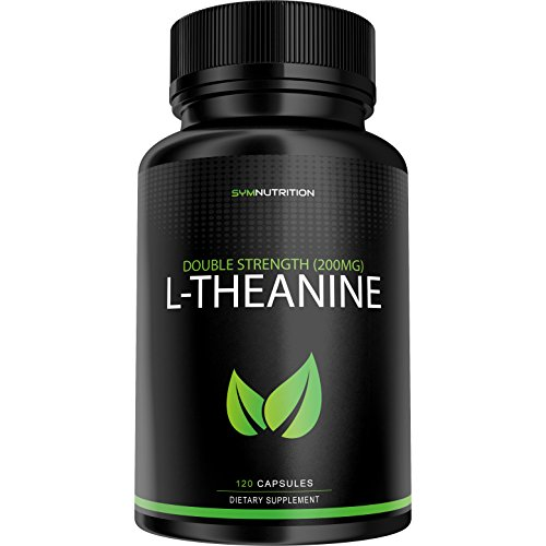 L Theanine 200mg Relaxation Powerful V Capsules product image