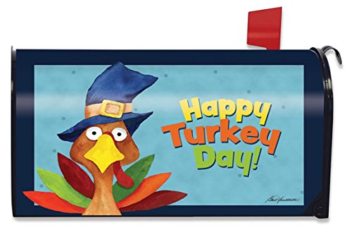 Turkey Day Thanksgiving Magnetic Mailbox Cover Holiday Humor Standard