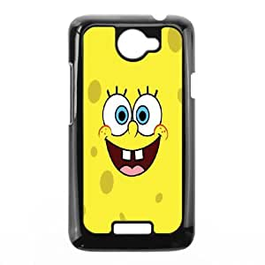 DIY Printed Spongebob hard plastic case skin cover For HTC One X SN9Q952162