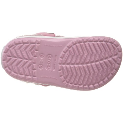 Mammoth Sabots Bubblegum Crocband Kids Oatmeal Enfant Mixte Rose Crocs qf6ZAwx