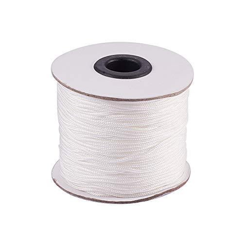 - PH PandaHall 1.5mm/ 100 Yards White Nylon Braided Lift Shade Cord for Blind Shade Mini Blind Cord Replacement String for Windows, Roman Shade Repair