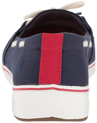 Women's Stripe Red Navy Grasshoppers Windham Sneaker FSvZwFqd