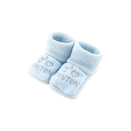 Babyschuhe 0-3 Monate Blue - Ich mag Onkel