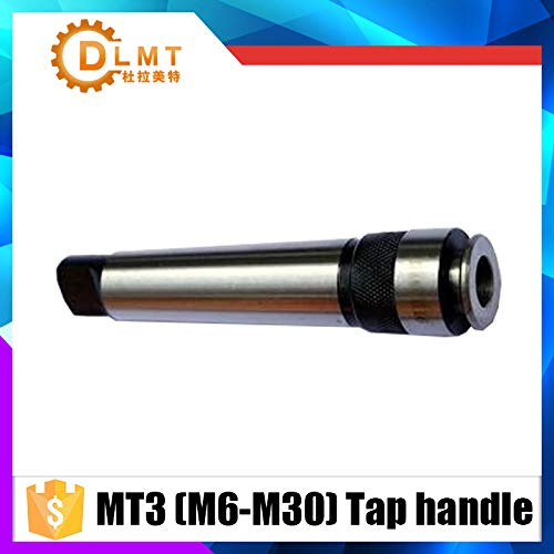 (Anncus M6/M7/M8/M10/M12/M14/M16/M18/M20/M22/M24/M27/M30/with MT3 Taper Tap Rod Superior Quality 3# Morse Taper Jacket - (Hole Diameter: MT3-M14))