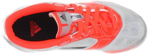 Adidas - Scarpe F5 TRX HG J, Multicolore (Rot / Silber), 31