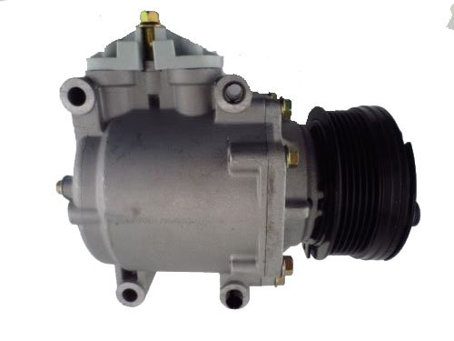 New Automotive AC Compressor with Clutch Ford Scroll Style (Compressor 2006 Ac Ford Freestyle)