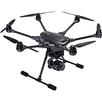 Yuneec Typhoon H Plus Hexacopter with ST16S Smart Controller, 1-Inch Sensor 4K Camera, Intel RealSense Technology, Travel Backpack, (2) Flight Batteries, (10) Propellers, And Charging Accessories by Yuneec