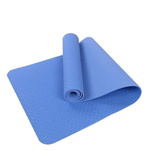 BJYG 6MM TPE Alfombrillas de Yoga Antideslizantes para ...