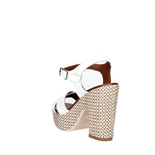 Sandalias Blanco Mujer Pz574 Pregunta 002 Hxq11E
