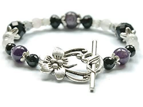 Amazon.com: Stress Relief & Anti Anxiety Bracelet Featuring Natural