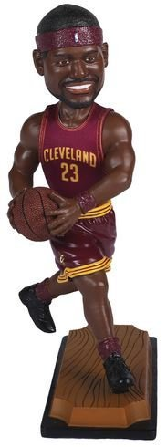 Bobble Head Doll Jersey - Lebron James Cleveland Cavaliers 10