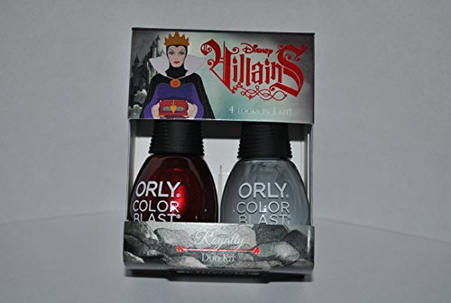 Orly Color Blast Disney Villains Evil Queen Duo Kit - Royalty