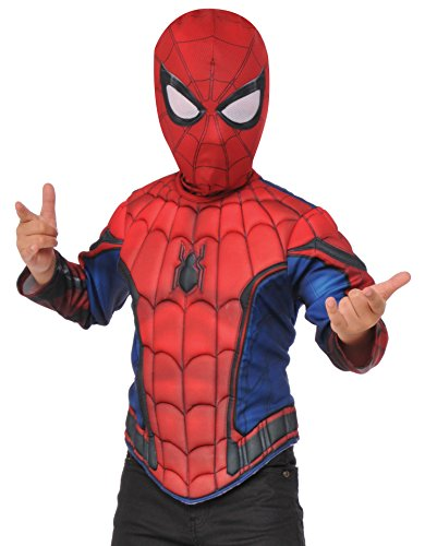 Imagine by Rubies Spider-Man Homecoming Boxed Muscle Chest Shirt Set, Small