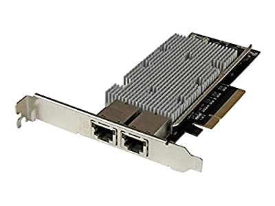 StarTech.com 2-Port PCI Express 10GBase-T Ethernet Network Card with Intel X540 Chip (ST20000SPEXI)