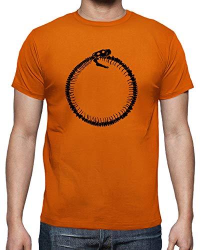 Uomo shirt Arancione T Ouroboros Tostadora qSPx5tBxw