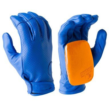 Sector 9 Mens Driver II Gloves Blue Size Small/Medium