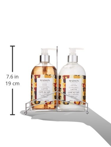 Upper canada soap maison hand body wash and lotion caddy Hand wash and lotion caddy