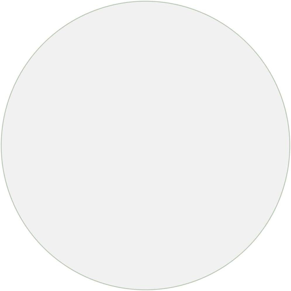 Transparente /Ø 70 cm Funda Protectora de Muebles Impermeable Resistente a los ara/ñazos Bulufree Protector de Mesa Redonda de PVC Resistente de 2 mm
