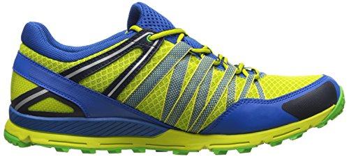 Helly Hansen Terrak - Zapatillas de deporte exterior Hombre Verde / Azul (475 Wasabi / Cobalt Blue / Eve)