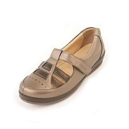 Ville De Femme À Chaussures Sandpiper Pour Lacets Étain qUnEv14wx