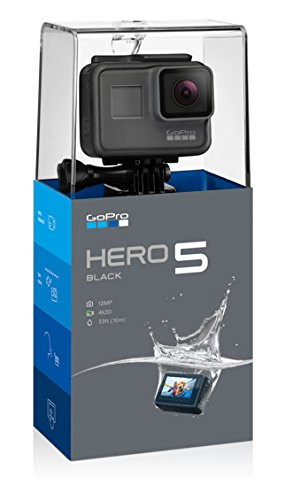 GoPro Hero 5 Black Action Camera (Black) Underwater Camcorders at amazon