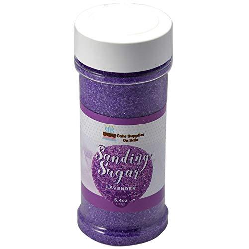 Sanding Sugar Lavender 5.4 oz