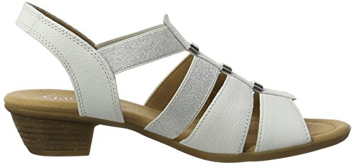 Blanc Donna 62 50 weiss 472 Sandali Gabor Shoes Comfort Y7wqXp