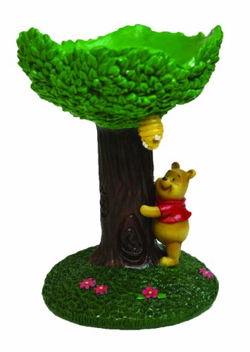 Disney Winnie the Pooh Table Top Bird Bath