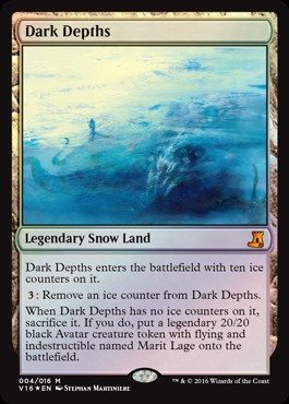 Magic: the Gathering - Dark Depths (004/016) - From The Vault: Lore - Foil
