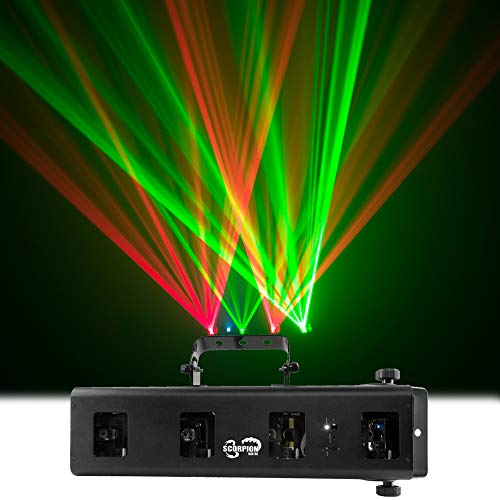 (Chauvet Scorpion Bar RG DJ Lighting Red Green Aerial Effects Light - Refurbished)