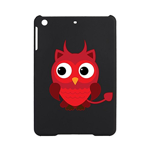 iPad Mini Case Black Little Spooky Owl Devil -