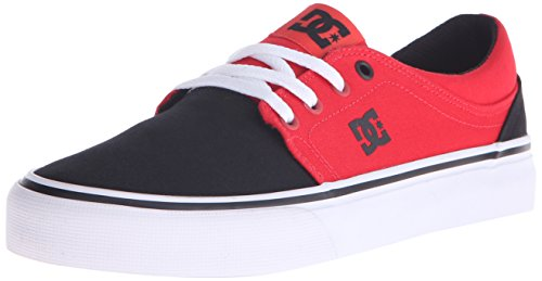 Trase DC Shoe Womens Poppy Black Red TX Skate Womens DC qqnPUwtRH