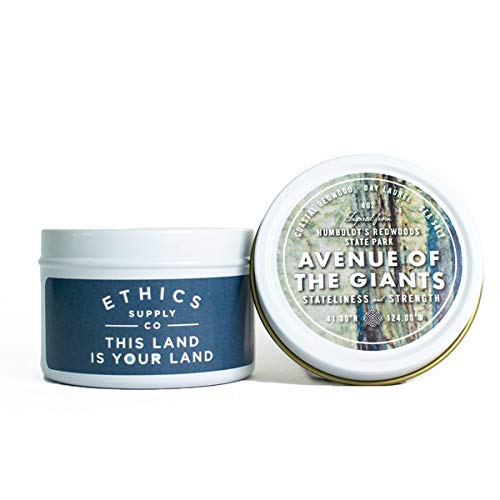 Ethics Supply Co. - Avenue of The Giants Travel Tin Candle by Ethics Supply Co.