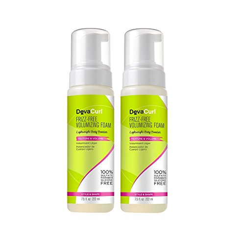 DevaCurl Frizz-Free Volumizing Texture Foam; 7.5 Ounce; 2-Pack by DevaCurl
