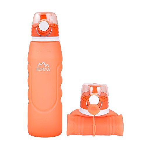 Collapsible Water Bottles Approved Portable