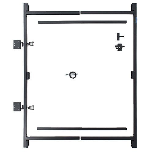Fence Walk Through Gate Kit - Adjust-A-Gate Steel Frame No Sag Gate Building Kit - This anti-sag gate kit is perfect for repairing existing sagging gates or building new ones. - Fence Gate Frame