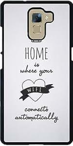 Funda para Huawei Honor 7 - Citación - Casa - Blanco by Asmo