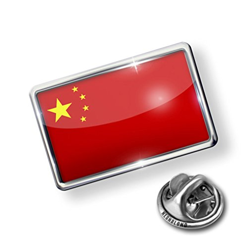Pin China Flag - Lapel Badge - NEONBLOND