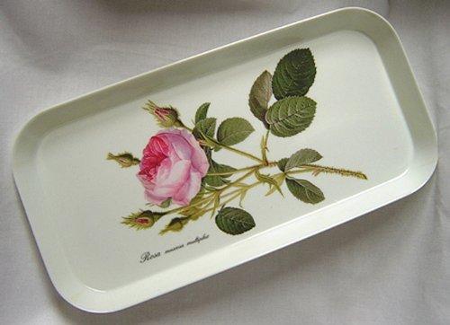 - Roy Kirkham Redoute Rose Sandwich Tray 30cm by 15cm
