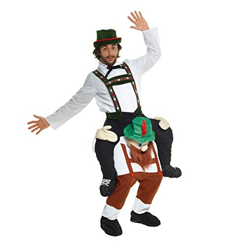 40 Unique And Funny Halloween Costumes (Morph One Size Fits Most Piggyback, Bavarian Bearded)