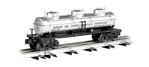 - Williams By Bachmann Carbide and Carbon Chemicals O Scale 3Dome Tank Car