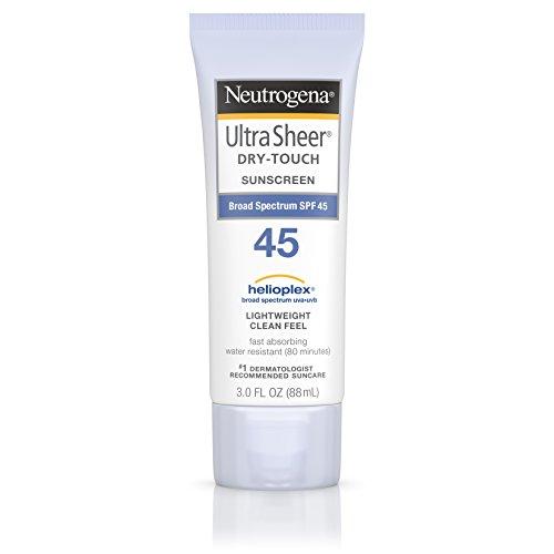 Neutrogena Ultra Sheer Drytouch Sunscreen, SPF 45, 3 Ounce