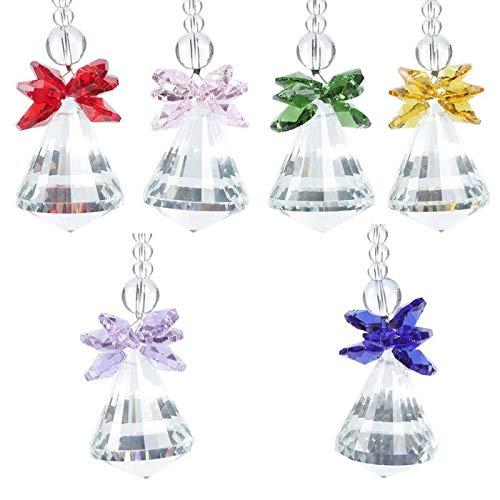 her Crystal Pendulum Lamp Prisms Pendants Drops Maker Home Decor Pendant - Wind Chimes Hanging Decorations ()
