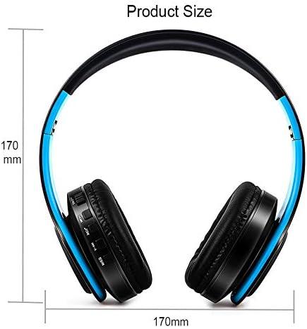 New Portable Wireless/Bluetooth On-Ear Headphones