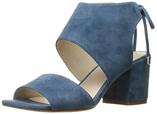 Kenneth Cole New York Vito Suede Block Heel Indigo - Indigo Suede Heels