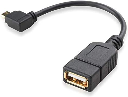 PRO OTG Power Cable Works for Samsung SM-G7102 with Power Connect to Any Compatible USB Accessory with MicroUSB